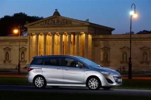 Mazda 5 1.6D goes on sale
