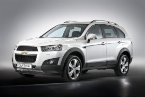 New Captiva features 'bold styling'