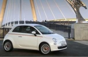 Fiat 500 wins design award