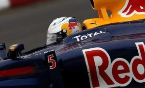 Podium for Vettel as Red Bull drivers finish in top five