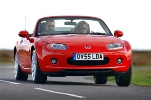 Mazda MX-5 named Best Roadster at 2011 Auto Express awards