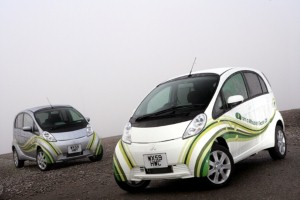 Mitsubishi iMiEV on show at EcoVeolocity
