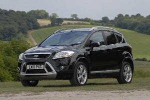 First pictures of Ford Kuga unveiled