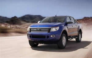 Ford Ranger and Bluebird in Land Speed Record attempt