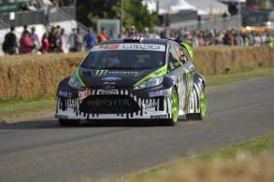 Ken Block looking for top ten finish in Ford Fiesta