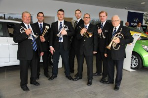 Bristol Street Motors supports band's fund raising appeal