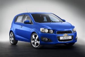 Chevrolet plans Aveo update