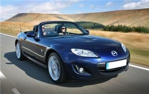 Mazda goes green with MX-5 Spyder