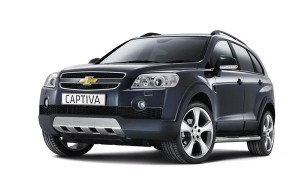 Upgraded Chevrolet Captiva spotted in India