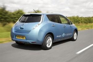 Nissan LEAF picks up two awards at RAC Future Car Challenge