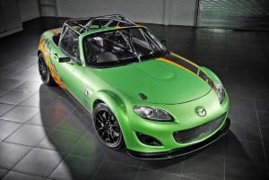 Mazda MX-5 race team celebrates success