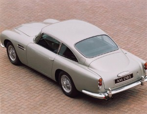 George Harrison's 1965 DB5 sells for £350k