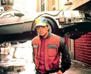 DeLorean Time Machine Up For Sale