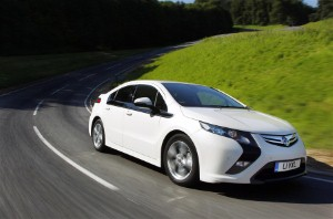 Vauxhall Ampera nominated for Car Of The Year 2012