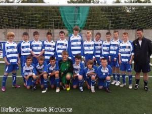 Bristol Street Motors supports local youth football team