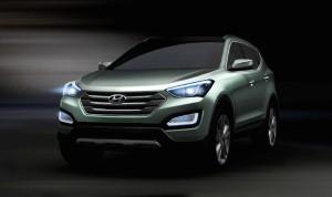 New Santa Fe unveiled by Hyundai