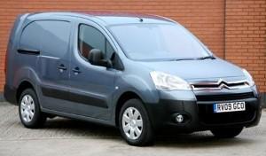 Citroen's Berlingo is winning the high cube van sales race