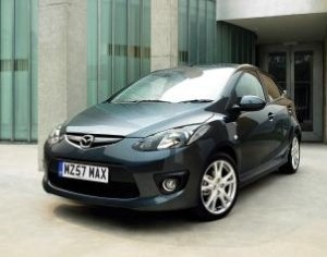 Mazda2 achieves Wall Of Death feat