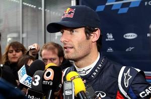 2012 prospects look promising for Red Bull, says Mark Webber