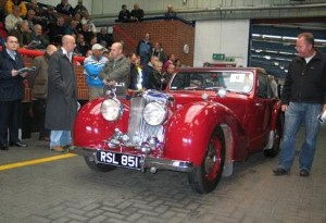 2012 Classic Car of the Year competition launched