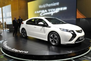 Does the Vauxhall Ampera represent the future of motoring?
