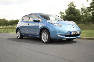 Nissan reaches LEAF target ahead of schedule