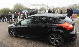 Focus ST gear up for The Sweeney with Goodwood drive
