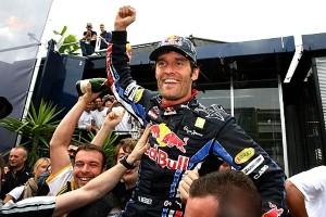Webber seals victory in British Grand Prix