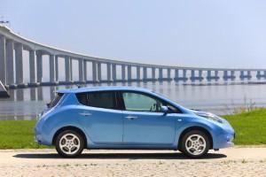 Nissan LEAF to power gig challenge