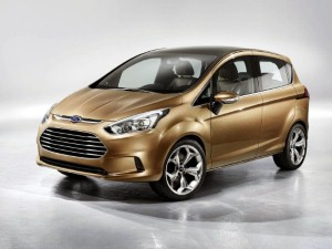 Ford unveils new B-Max