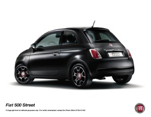 New Fiat 500 hits the streets