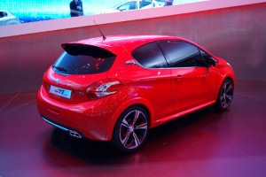 Peugeot 208 receives eye-catching makeover