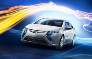 Vauxhall's environmentally-friendly Ampera honoured