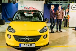 Production of the Vauxhall Adam begins