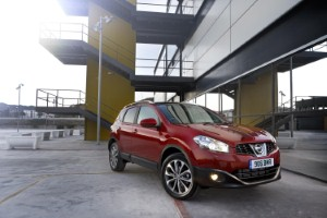 Nissan celebrates its Qashqai being named Crossover of the Year