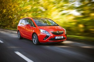 Vauxhall introduces the Zafira Tourer BiTurbo