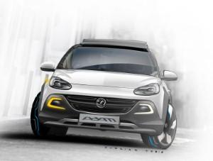 Vauxhall to debut ADAM ROCKS concept car at Geneva