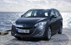 Enhanced Mazda 5 Venture models hit UK roads