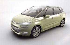 Citroen Technospace concept vehicle unveiled