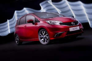 New Nissan Note's three-in-one camera