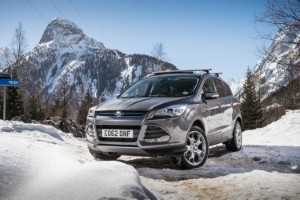All-new Ford Kuga's AWD system put under the spotlight
