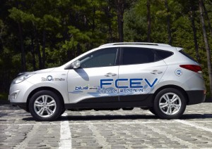 Hyundai ix35 to demonstrate benefits of hydrogen fuel cell technology