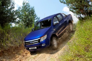 Ford Ranger's off-road capabilities showcased at charity event