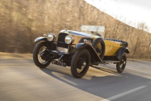 Vauxhall celebrates the centenary of the UK's first 100mph car
