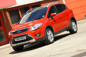 Efficiency key with the Ford Kuga, claims chief