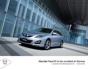 Mazda6 secures Red Dot Design Award