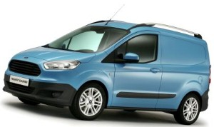 New Ford Transit Courier makes global debut