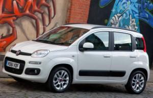 Record-breaking Fiat Panda returns home