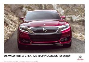 Citroen unveils DS Wild Rubis concept at Shanghai Motor Show