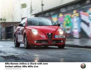 Alfa Romeo launches new limited edition MiTo Live